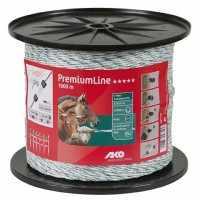 Fil Premium Line 1000m blanc/vert