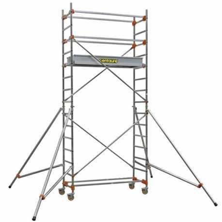 ECHAFFAUDAGE PL LONG : 1m35- PLANCHER H 1m80.
