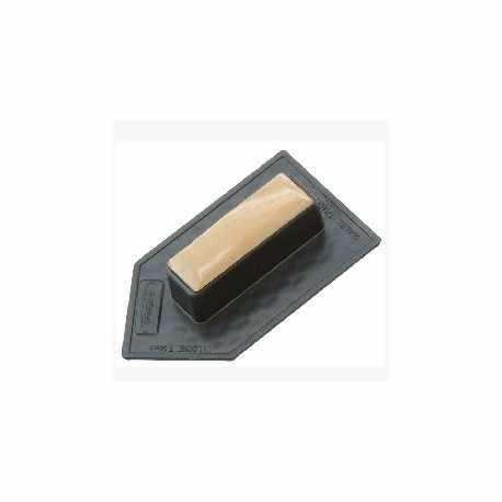 Taloche en PS Choc noir pointue 14 x 8 cm