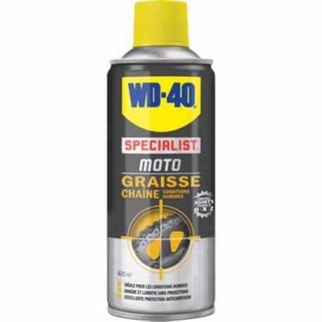 Graisse chaîne moto WD-40 400 ml