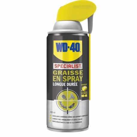 Graisse en Spray Longue Durée WD-40, 400 ml