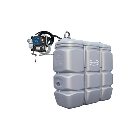 CUVE STOCKAGE FUEL PEHD 1500L