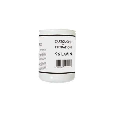 CARTOUCHE DE FILTRATION 96L/M