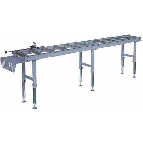 Table de butée manuelle réglable pour scie long 3 mètres -