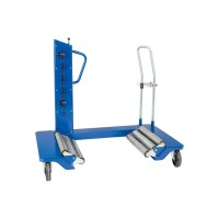 Chariot porte-roues hydraulique