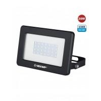 projecteur LED SMD 30W IP65, noir 6500K