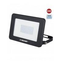 projecteur LED SMD 50W IP65, noir 4000K