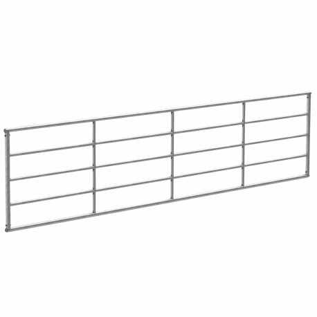 Portail de clôture fixe 100cm