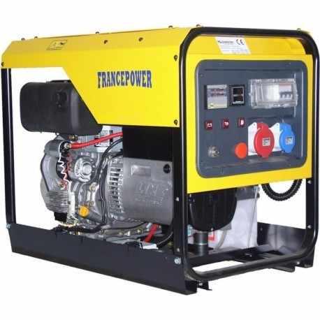 Groupe Electrogène Diesel Triphasé 7,3 kVA AVR
