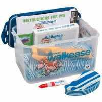 Walkease kit de base complet L bleu lot de 10