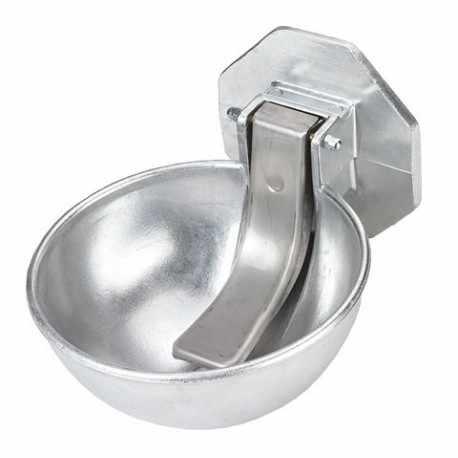 Abreuvoir à palette en aluminium