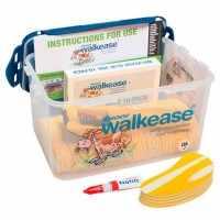 Walkease kit de base complet M jaune lot de 10