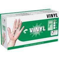 Gants à usage unique VINYL S 24cm bte de 100