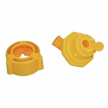 Coude pour valve hygiénique, 5 pces par paquet