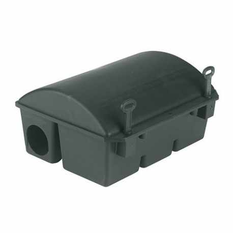 Box d'appâts BlocBox pvc pour rats 32,5x25x16cm