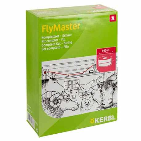 Kit complet avec fil 440m Fly Master