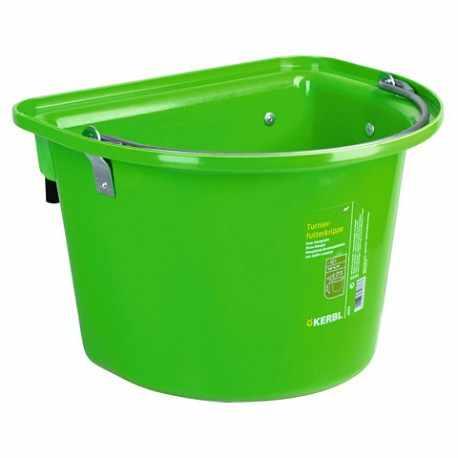 Kerbl Seau d/Écurie en PVC pour Cheval Vert 12 L
