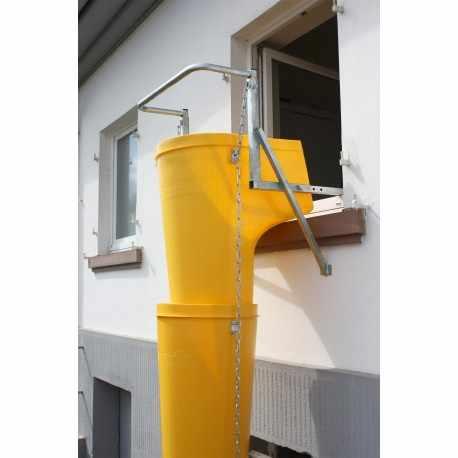 Kit 10 goulottes + 1 trémie + 1 support fenêtre