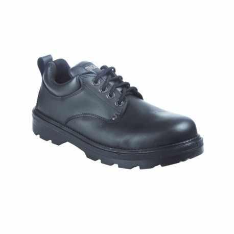 Chaussure basse. Cuir fleur. S3 SRC.