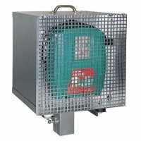 Boîtier antivol électrifié zingué pour 12V