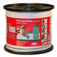 Ruban Premium Line blanc/vert 38mm